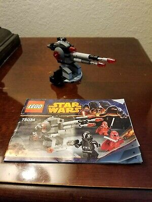 LEGO Star Wars 75034 Death Star Troopers with manual