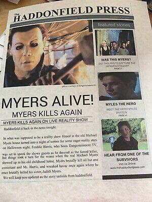 Halloween Ressurection Movie. Michael Myers  - Halloween Ressurection