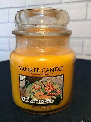 GIFT, Yankee Candle, CHRISTMAS COOKIE, 14.5 oz., unlit, unopened, 2008 circa