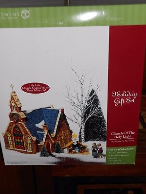 DEPT 56 CHRISTMAS IN THE CITY CHURCH OF THE HOLY LIGHT NIB *Read*