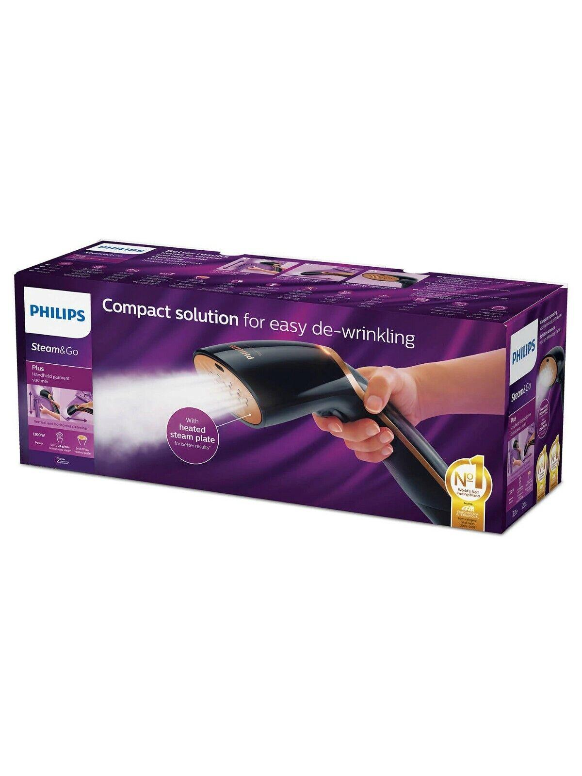 PHILIPS Steam & Go Plus GC362/86 Handheld Garment Steamer -
