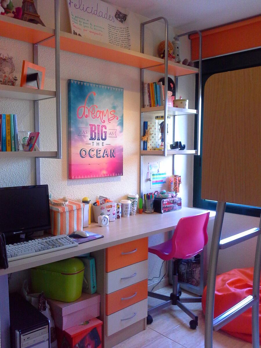 Dormitorio juvenil completo pinto muebles for Loquo muebles
