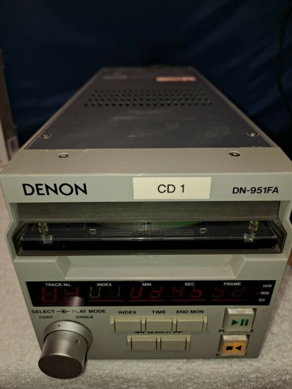 Denon DN-951 Professional CD cart player from radio station cart CD 951 FA AES