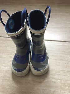 Toddler Boys size 7 rain boots
