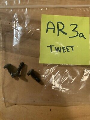 3 original AR screws from AR3 speakers - for tweeter mounting
