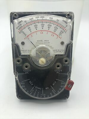 Triplett Model 310-x Electric Instrument Company - Untested Free Shipping