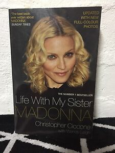 LIFE WITH MY SISTER MADONNA by Christopher Ciccone Thornbury Darebin Area Preview