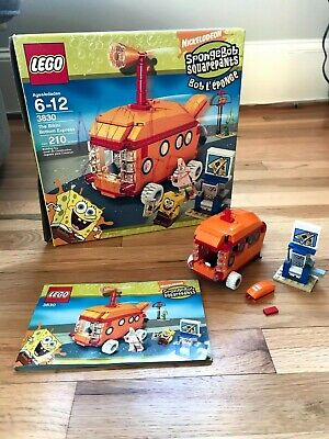 LEGO 3830 The Bikini Bottom Express w/ Manual and Box - Parts OnlyNot Complete