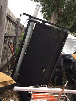 Tradesmen's Trailer Canopy