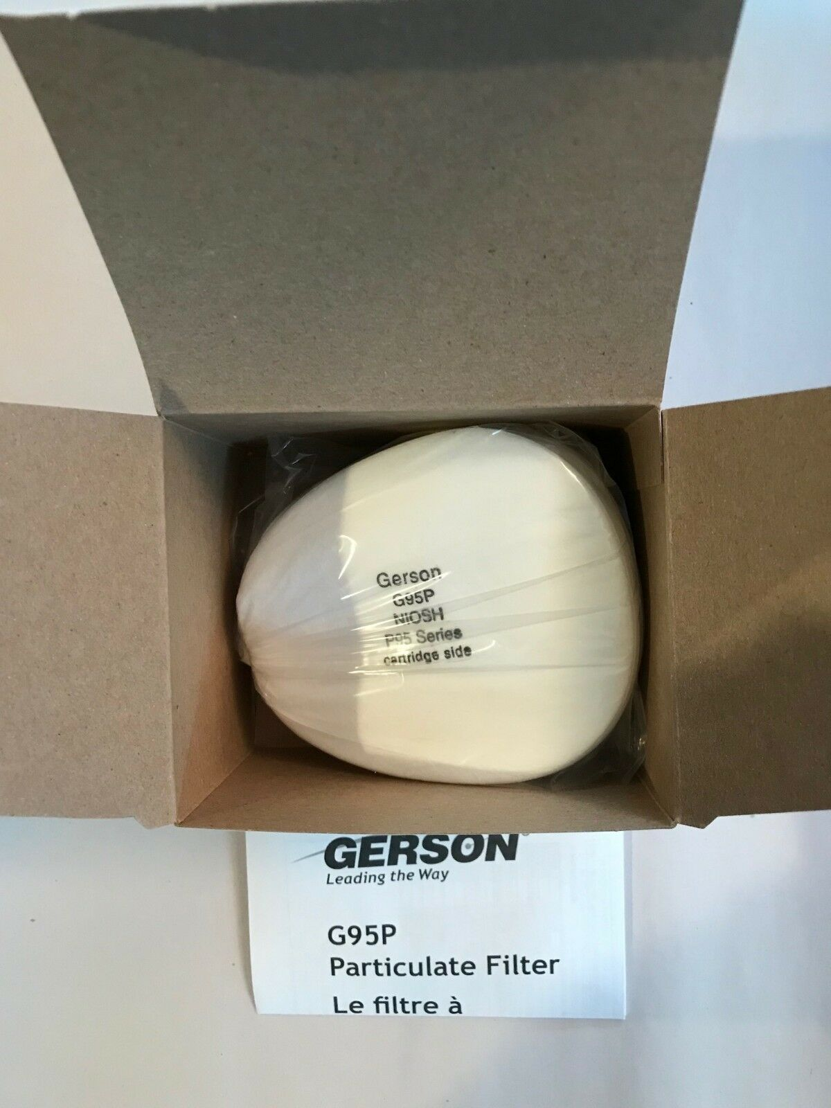 Gerson G95P P95 Particulate Filter - Pack of 10 Filters - Free Shipping