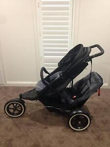 Phil & Teds Explorer Double Pram Tarneit Wyndham Area Preview