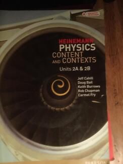 Heinemann Physics 2AB