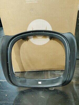 Herman Miller Aeron Seat Frame Pan  Size B Medium With Crack Graphite Color