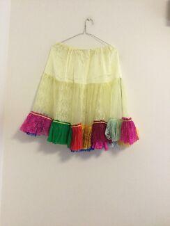 Net and satin petticoat size 12-14