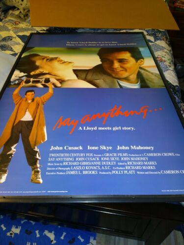 Say Anything Movie Poster 24x36 Rolled - $9.99