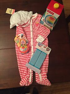 Lot of new baby stuff