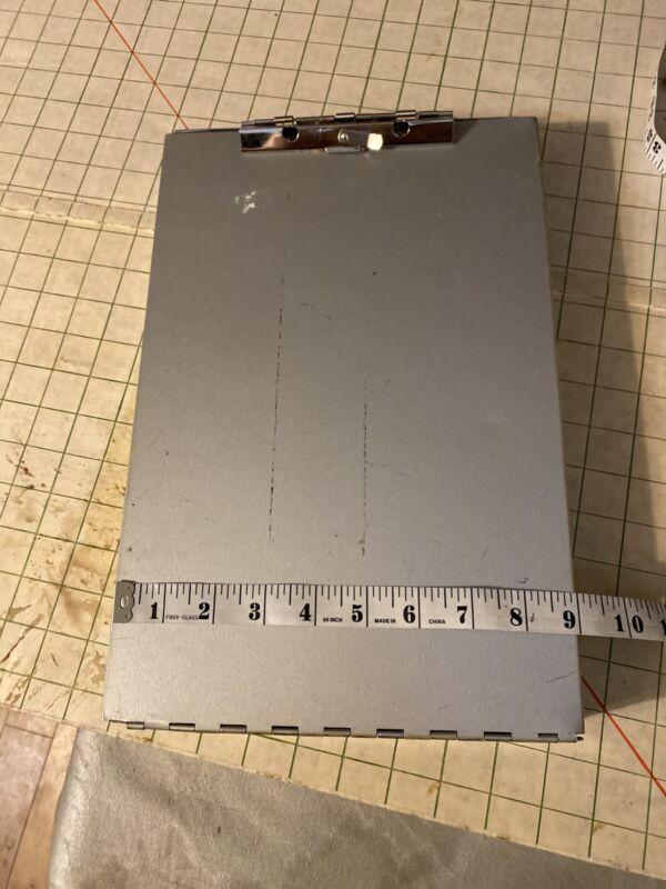 Saunders  Metal Portfolio w/ two compartments Clipboard School Work office