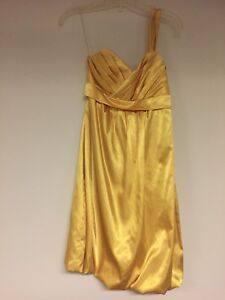 Gold Le Chateau Dress
