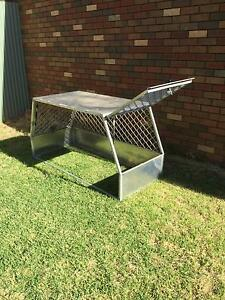Aluminium ute dog cage Finley Berrigan Area Preview