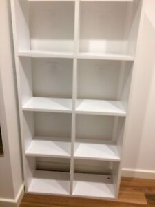 White shelving unit for sale! Stanmore Marrickville Area Preview
