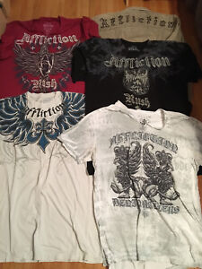 AFFLICTIONS shirts