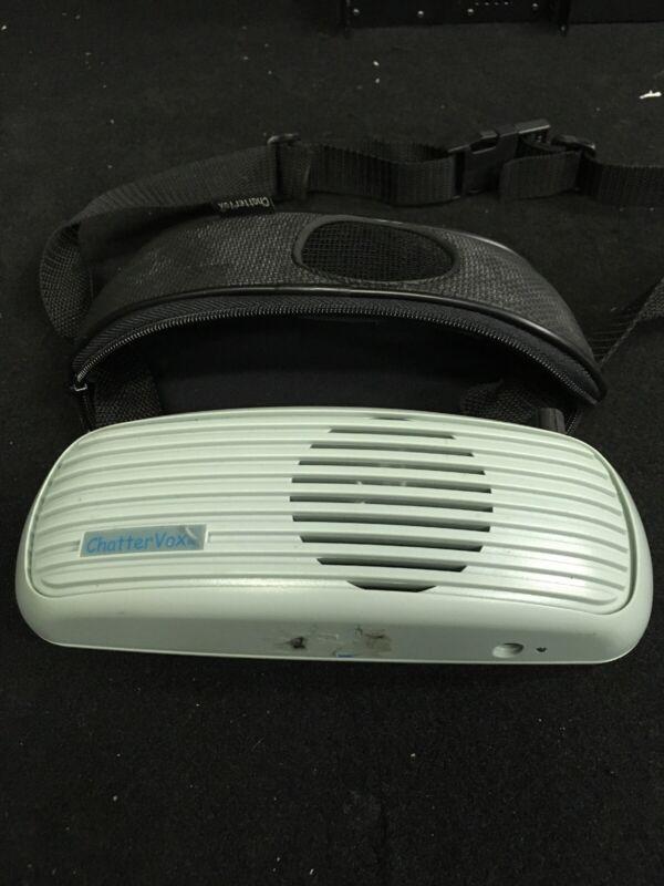 Chattervox 100 Voice Speech Amplifier Speech Box Chattervox Untested MW