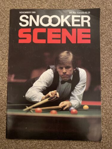 Snooker Scene Magazine November 1986 Good Condition