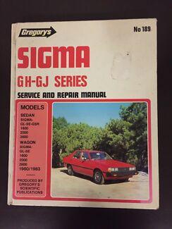GH -GJ Mitsubishi Sigma Workshop Manual