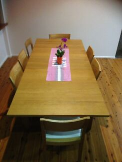 Dining table extendable and chairs ikea
