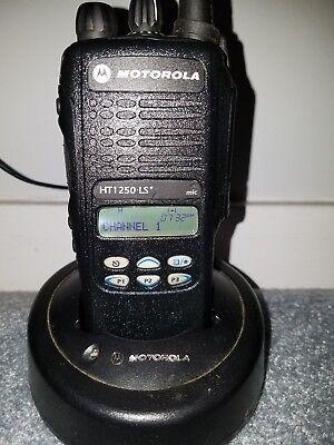 Newly Refurbished Motorola HT1250 LS+ UHF 450-512 AAH25SDH9DP7AN