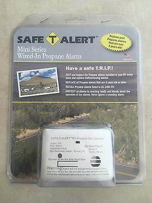 Safe-T-Alert Mini Series Wired-In Propane Alarm for RV / Camper / Motorhome