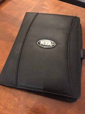 Kia Portfolio Organizer Writing Pad Original Parts