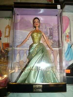 2002 Exotic Beauty Barbie Style Set Collection Limited Edition