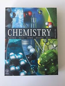CHEMISTRY Wiley 2nd Edition TEXTBOOK Randwick Eastern Suburbs Preview