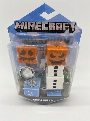 Minecraft Mattel Snow Golem Figure New