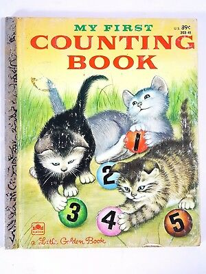 My First Counting Book ~ Vintage 1970