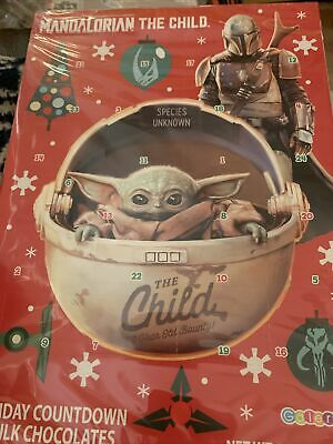 Baby Yoda Advent Calendar Star Wars Mandalorian The Child Milk Chocolates