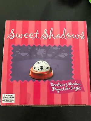 Sweet Shadows Revolving Shadow Projection Light New In Box - Halloween Shadow Projection