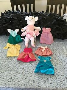 Angelina Ballerina plush  mouse , clothes, books Burpengary Caboolture Area Preview