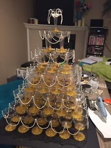Champagne Tower Party/Wedding Decoration