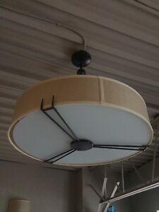 Geeorgous semi flush mount  light