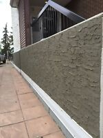 PARGING FOUNDATION and STUCCO REPAIRS