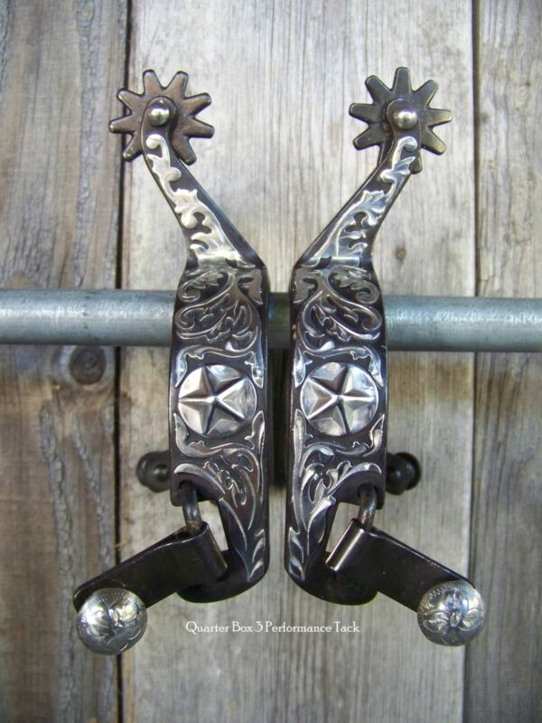 Spurs - Antiqued Star Concho (Mens)