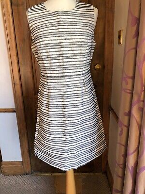 Hoss Intropia women's ivory summer dress size 14 UK (42EUR) Brand New With Tags