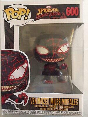 Funko Pop! Marvel Spider-Man Maximum Venom VENOMIZED MILES MORALES! New! #600