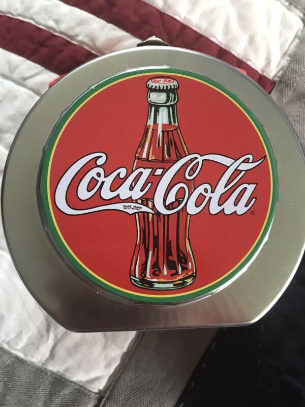 Metal Coca Cola Container