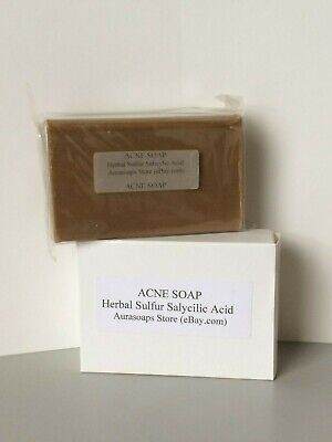 sulfur and salicylic acid soap with herbal