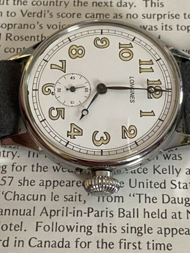 Longines Manual Winding Mechanical Vintage Watch