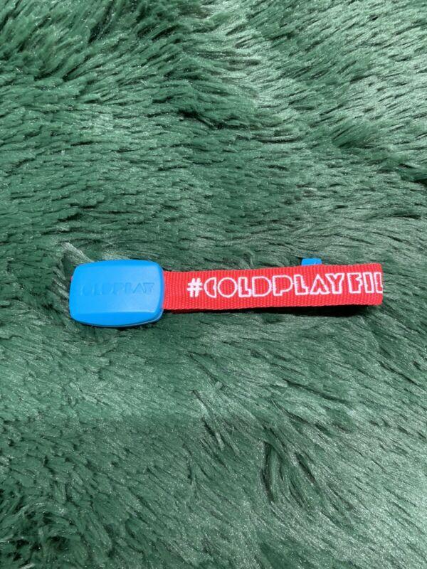 Coldplay Mylo Xyloto2012 Concert Tour Band Wristband Music