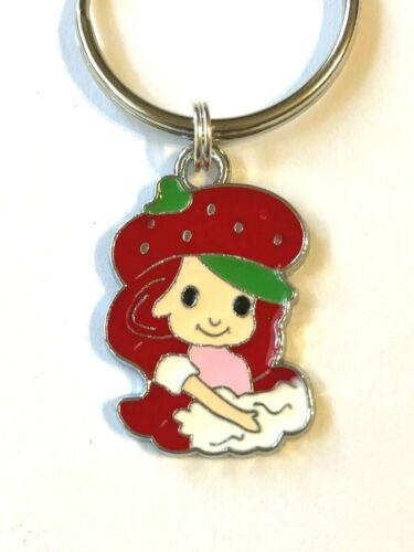 Strawberry SHORTCAKE Key Chain - Adorable Enamel - US Seller FREE SHIPPING
